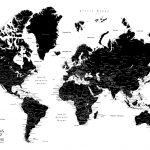 Black-and-White-World-Map