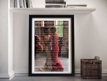 Personalised Photo & Musical Notes Art