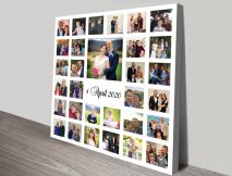 Photo Collage canvas print
