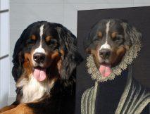 The Duchess Custom Dog Pet Portrait