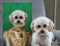 Buy Her Excellency a Custom Pet Portrait Print