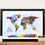 Custom-Watercolour-Push-Pin-Map