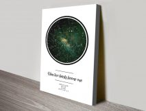 Buy a Two Hearts Bespoke Star Chart